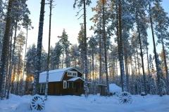 vinter 2018 stugan utifrån
