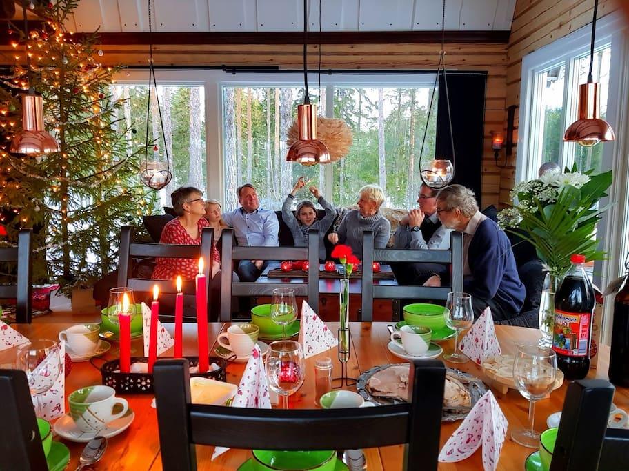 jul familjen inne 2018